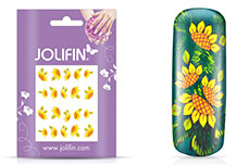 Jolifin intensive Nailart Sticker Folie 8