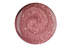 Jolifin Carbon Colors UV-Nagellack rosé Glitter 11ml