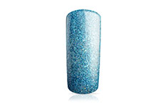 Jolifin Carbon Colors UV-Nagellack ocean blue Glitter 14ml