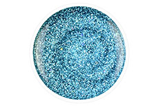 Jolifin Carbon Quick-Farbgel - ocean blue Glitter 14ml
