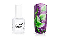 Jolifin Carbon Quick-Farbgel - violet Glitter 11ml
