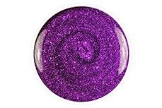 Jolifin Carbon Quick-Farbgel - violet Glitter 11ml