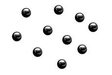 Jolifin Nailart Metallic Plates black