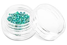 Jolifin Nailart Metallic Plates blue green