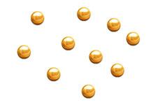 Jolifin Nailart Metallic Plates gold