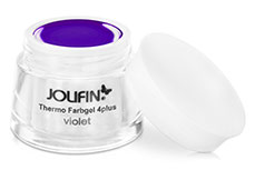 Jolifin Thermo Farbgel 4plus violet 5ml