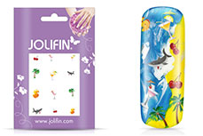 Jolifin Nailart Holiday Tattoo 1
