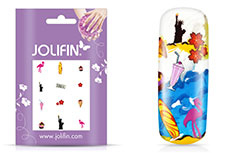 Jolifin Nailart Holiday Tattoo 2
