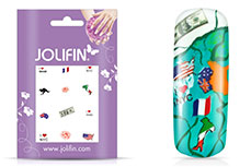 Jolifin Nailart Holiday Tattoo 3