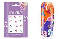 Jolifin Nailart Holiday Tattoo 8