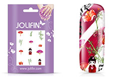 Jolifin Nailart Holiday Tattoo 9