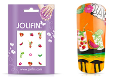 Jolifin Nailart Holiday Tattoo 12