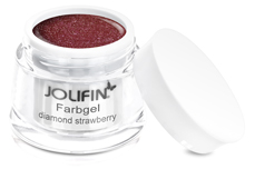 Jolifin Farbgel 4plus diamond strawberry 5ml