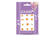 Jolifin Fussball Nailart Tattoo 2
