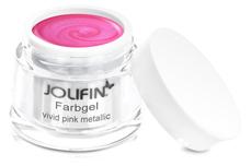 Jolifin Farbgel vivid pink metallic 5ml