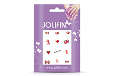 Jolifin Fussball Nailart Tattoo 4