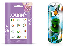 Jolifin Fussball Nailart Tattoo 7