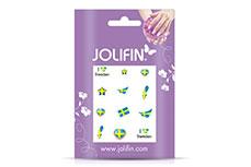 Jolifin Fussball Nailart Tattoo 10