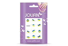 Jolifin Fussball Nailart Tattoo 11