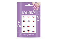 Jolifin Fussball Nailart Tattoo 12