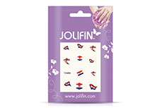 Jolifin Fussball Nailart Tattoo 15