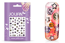Jolifin Girlie Glitter Nailart Sticker 4