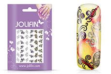 Jolifin Girlie Glitter Nailart Sticker 6