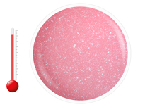 Jolifin Thermo Farbgel hot pink glitter 5ml