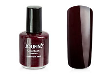 Jolifin ColorTech Nagellack maroon red 14ml