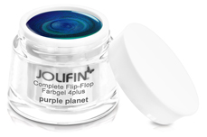 Jolifin Complete Flip-Flop Farbgel purple planet 5ml