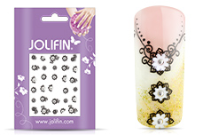 Jolifin Nailart Wedding Sticker Nr. 15