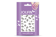 Jolifin Nailart Wedding Sticker Nr. 19