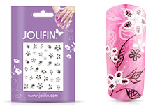 Jolifin Nailart Wedding Sticker Nr. 21