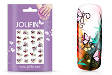 Jolifin Glitter Nailart Sticker 1
