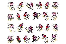 Jolifin Glitter Nailart Sticker 1