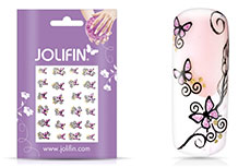 Jolifin Glitter Nailart Sticker 5