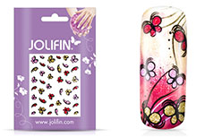 Jolifin Glitter Nailart Sticker 10