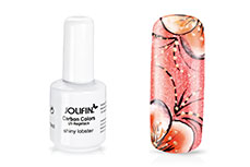 Jolifin Carbon Colors UV-Nagellack shiny lobster 11ml