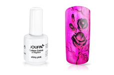 Jolifin Carbon Colors UV-Nagellack shiny pink 11ml