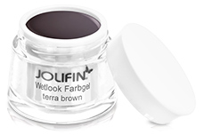 Jolifin Wetlook Farbgel 4plus terra brown 5ml
