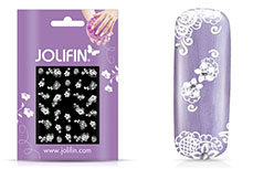 Jolifin Sparkling Crystal Nail-Sticker 9