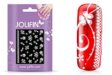 Jolifin Sparkling Crystal Nail-Sticker 10