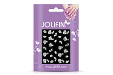 Jolifin Sparkling Crystal Nail-Sticker 14