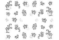 Jolifin Nailart Classic Dream Sticker Nr. 19