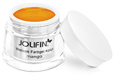 Jolifin Wetlook Farbgel 4plus mango 5ml