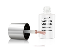 Jolifin Carbon Colors UV-Nagellack brown Glimmer 11ml