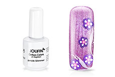 Jolifin Carbon Colors UV-Nagellack purple Glimmer 14ml