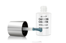 Jolifin Carbon Quick-Farbgel - azure Glimmer 11ml