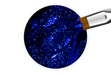 Jolifin Farbgel blue star Glitter 5ml