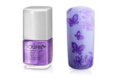 Jolifin Stamping-Lack - glitzer lila 12ml